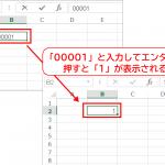 Excelで数値の先頭に「0」を表示する1