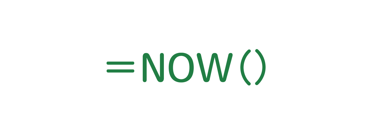 Excelで現在の日時を自動入力するNOW関数の使い方1