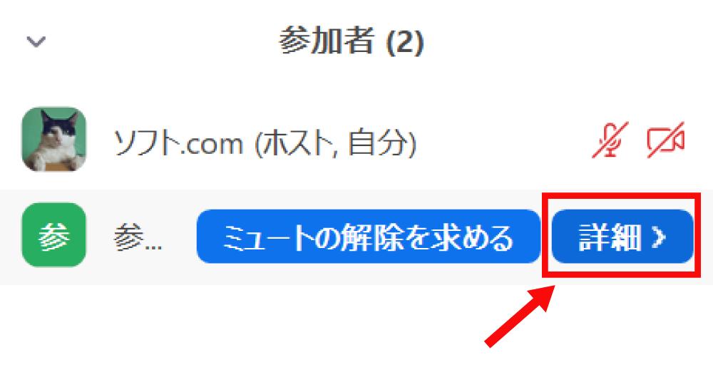 Zoomの参加者を共同ホストに変更する方法2